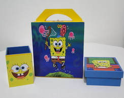 KIT ESCOLAR BOB ESPONJA