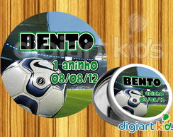 Adesivo Para Latinha Futebol