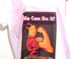 Camiseta  We can do It 3d
