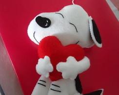 Snoopy de feltro