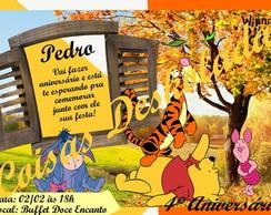 Convites - Ursinho Pooh