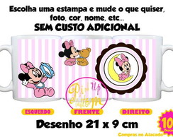 Caneca Disney Baby Minnie