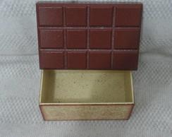Caixa barra de chocolate m�dia em MDF
