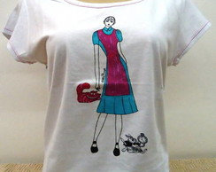 Camiseta - Elisa�s Doll - Alice
