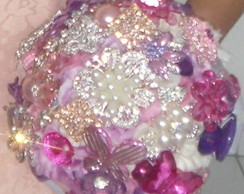 Buqu� de Broches Rosa