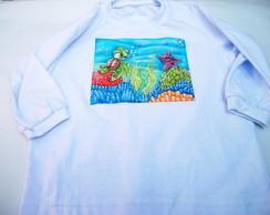 Camiseta Infantil Tartaruga