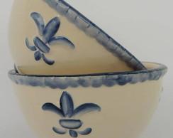 Conjunto Bowl Relevos - Cer�mica