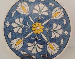 Prato Decorativo Mandala Floral