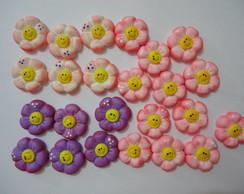 Flores - Apliques em Biscuit