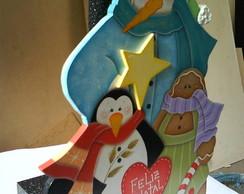 Porta rolo de papel toalha - Natal
