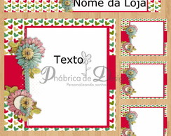 KIT MG51 mai  arte do cart�o de visita