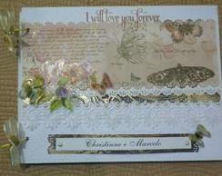 Livro De Assinatura Para Casamento