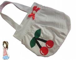Bolsa Branca Cereja