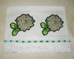 Toalha Social - Floral 2