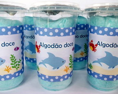 "Algod�o doce ""Fundo do Mar"""