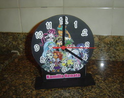 Enfeite De Mesa Rel�gio Monster High