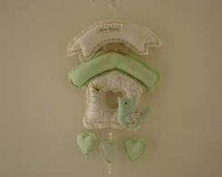 Enfeite de porta Maternidade benvindo