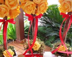 Topiara Rosas Amarelas  XVIII