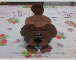 Cofre Urso Menino - Pequeno