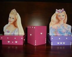 Porta L�pis Enfeite de mesa Barbie
