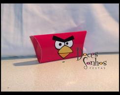 "pillow box - caixinha ""angry birds"""