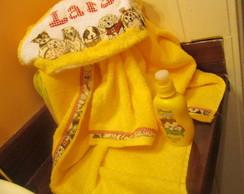 Toalha Capuz da Lara !!