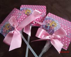 convite Barbie Princesa Pop Star
