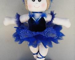 Bailarina p�ssaro azul