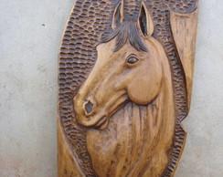 Cavalo em Cedro
