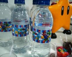 �gua Personalizada Mario bros