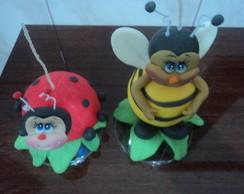 joaninha e abelhinha