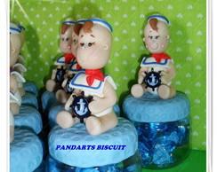 Beb� Marinheiro Pote Acr�lico