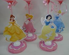 Enfeite de Mesa das Princesas com 10