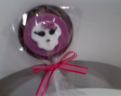 Pirulito de chocolate -  Monster High