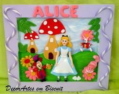 Quadro tema Alice no pais das maravilhas