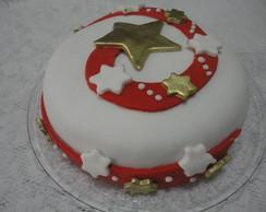 Bolo Pasta Americana - Natal