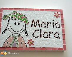 Mosaico Quadro Infantil com Nome