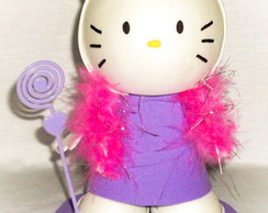 HELLO KITTY COM PORTA FOTOS