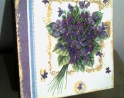 Caixa flores orqu�dea radiante
