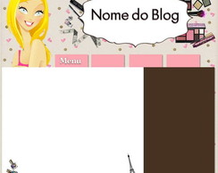 Template para blog - Meu Look II - 2011