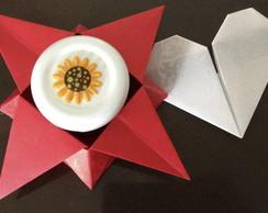 Brigadeiro e origami para dia das m�es!
