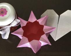 Brigadeiro e origami para o dia das m�es