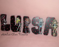 Letras Decoradas Monster High