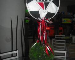 centro de mesa com tema futebol
