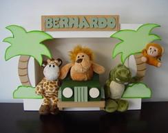(DO 0049) Quadro decorativo safari