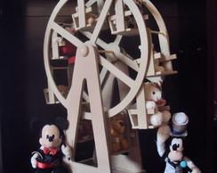 Roda gigante com motor decora��o