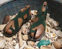Sand�lia de couro - Mod.01