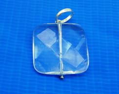 Pingente de Pedra Cristal