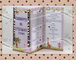 Card�pio Personalizado Safari