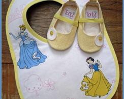 Kit Princesas Cinderela e Branca de Neve